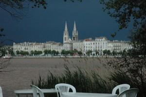 Bordeaux vu de la rive droite